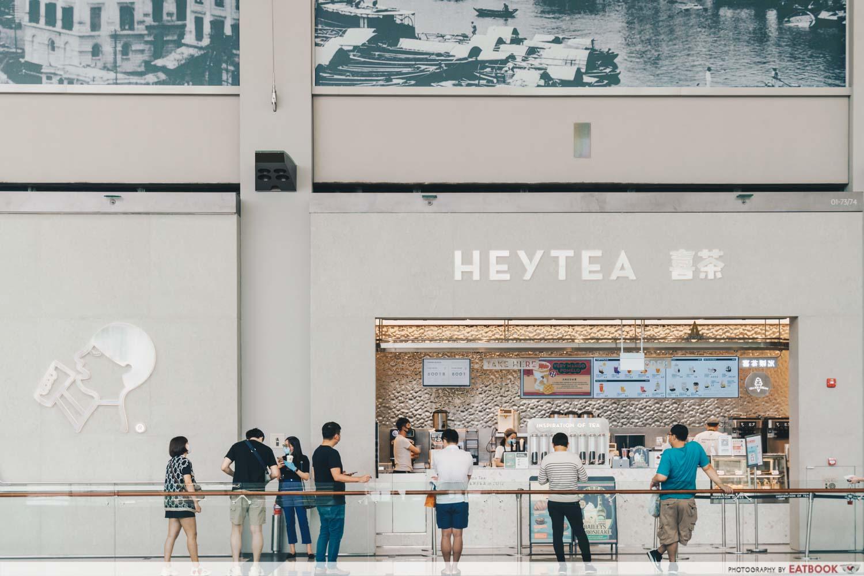 Heytea store front