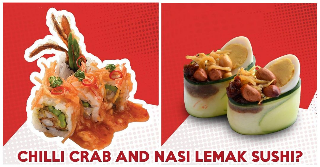 Ichiban chilli crab maki - feature image