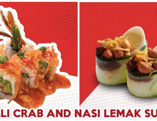 Ichiban chilli crab maki - feature image