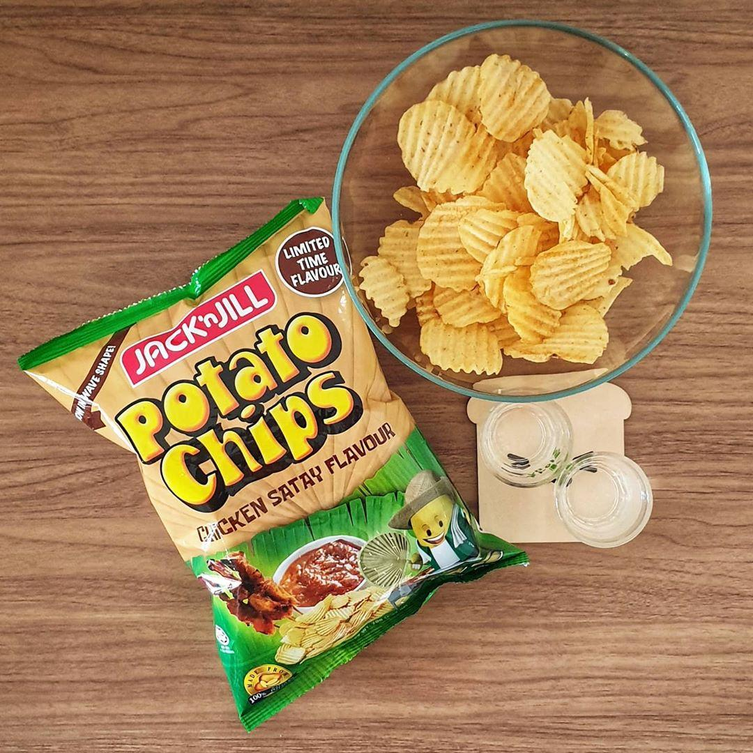 Jack n' Jill Satay Potato Chips
