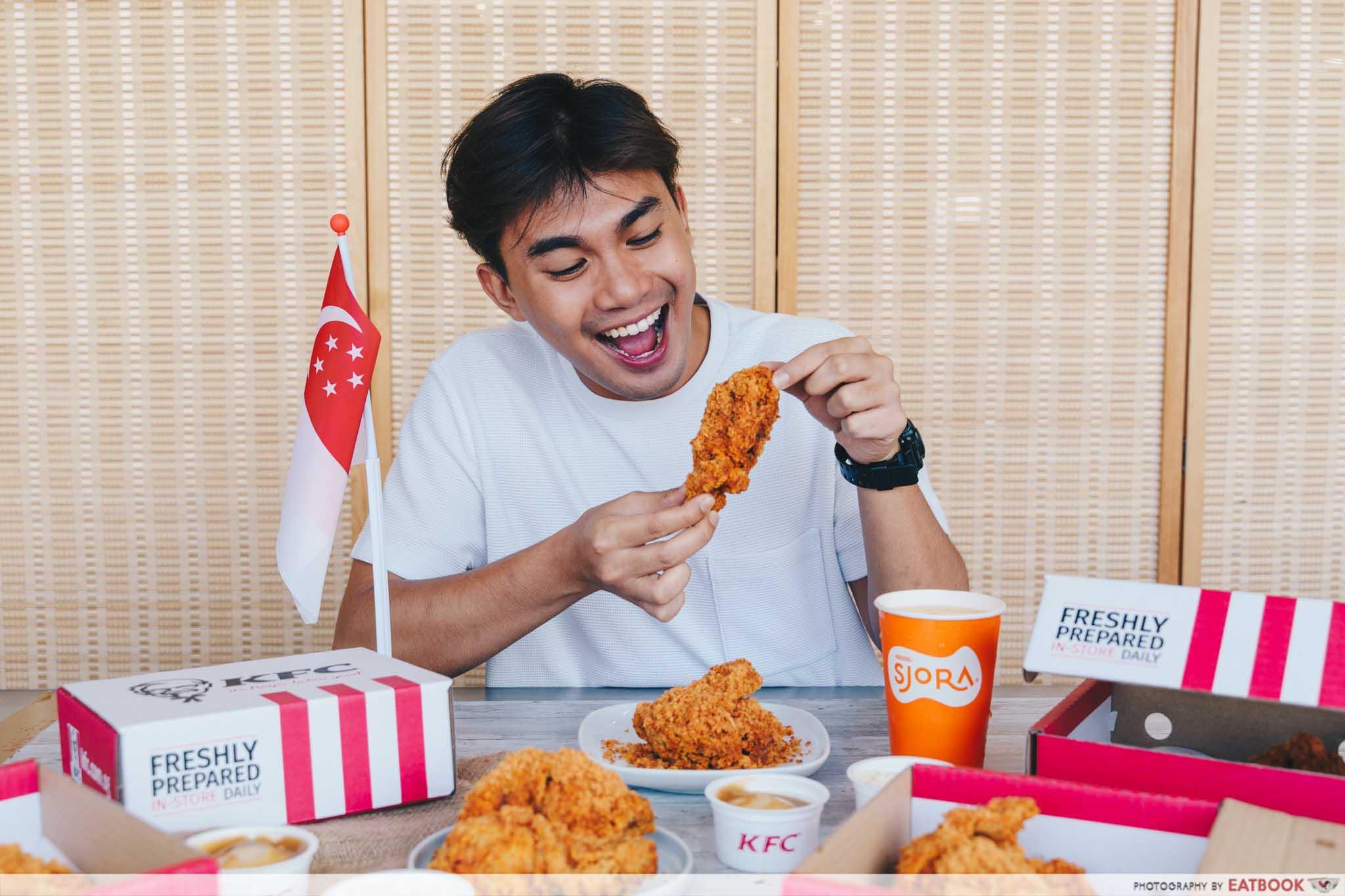 KFC Flossy Crunch Chicken - bundle meals