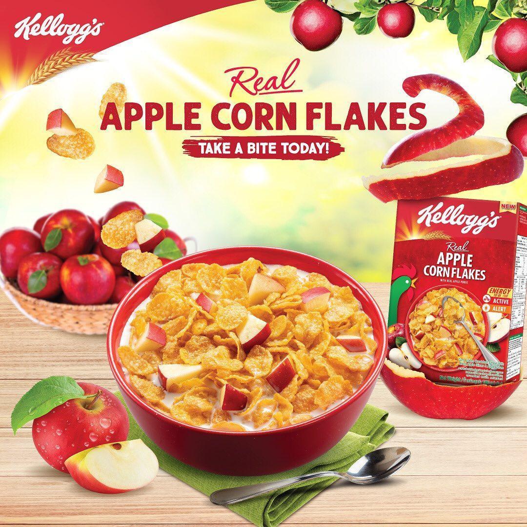 Kellogg's Apple Corn Flakes