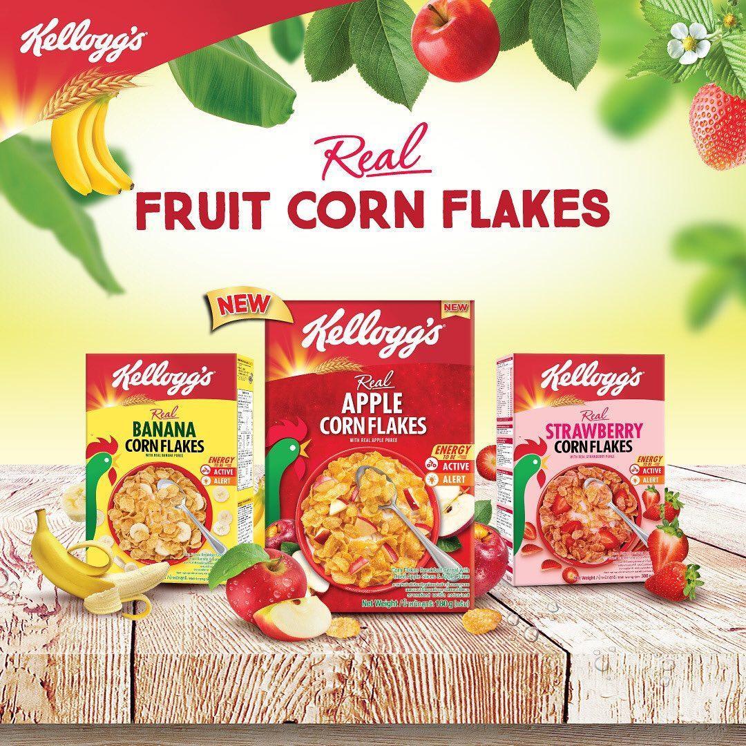 Kellogg's Real Fruit Corn Flakes