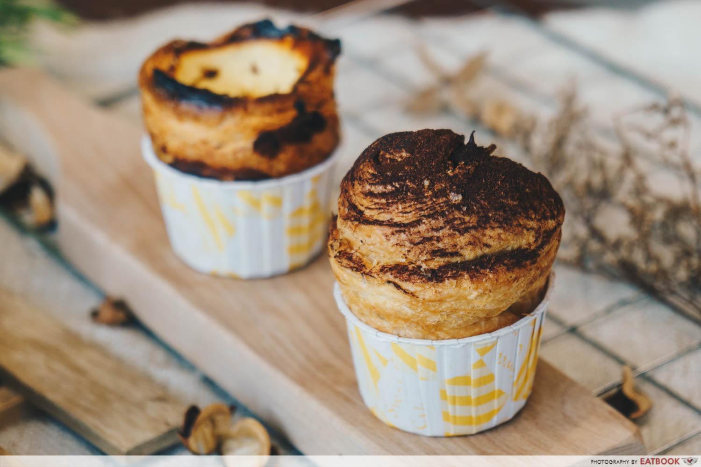 Keong Saik Bakery - Milo cruffin