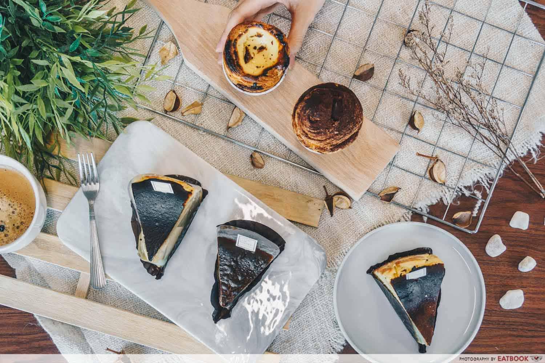 Keong Saik Bakery - flatlay