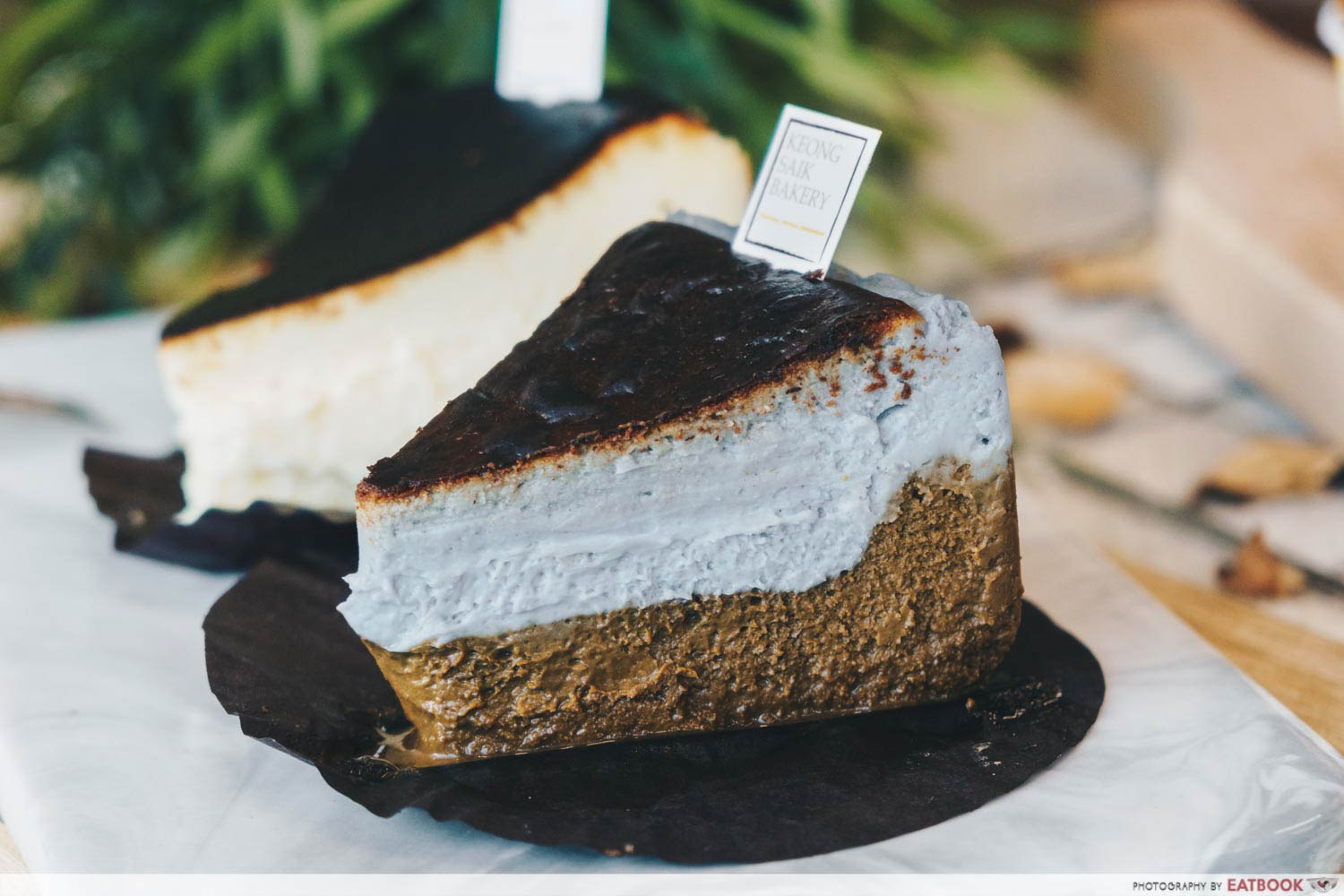 Keong Saik Bakery - seashore burnt cheesecake