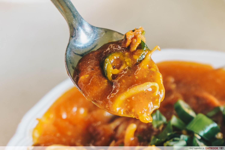 Latiffa Huri - mee rebus gravy