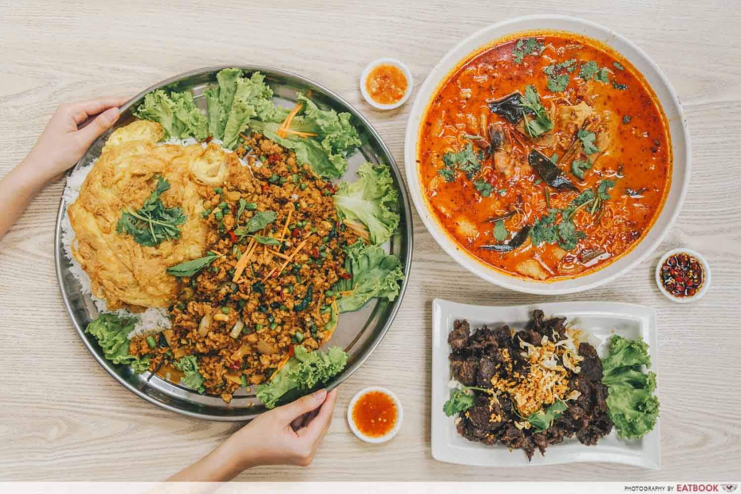 Limau Thai Kitchen - flatlay