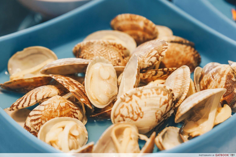Ma Ma Spin Pot - clams