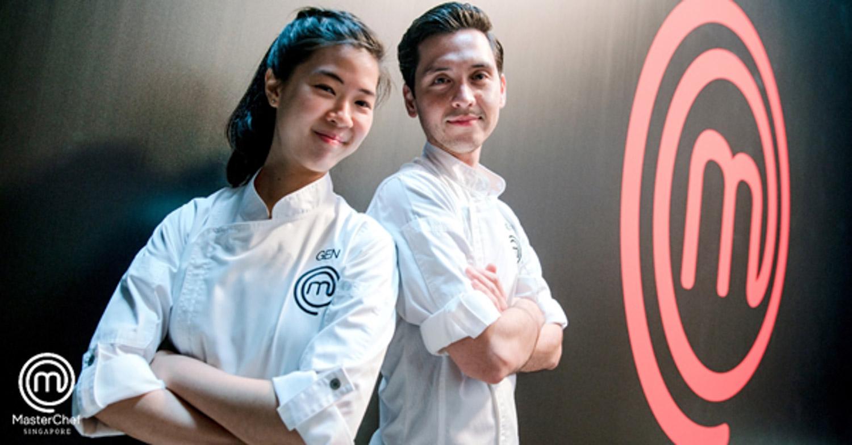 MasterChef Season Two - Genevieve Lee & Zander Ng