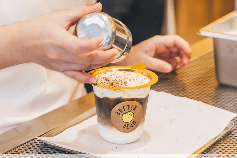 Butter Bean BBrulee Kopi Latte