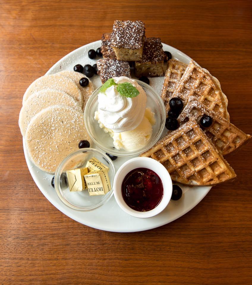 Pancakes Tasting Platter