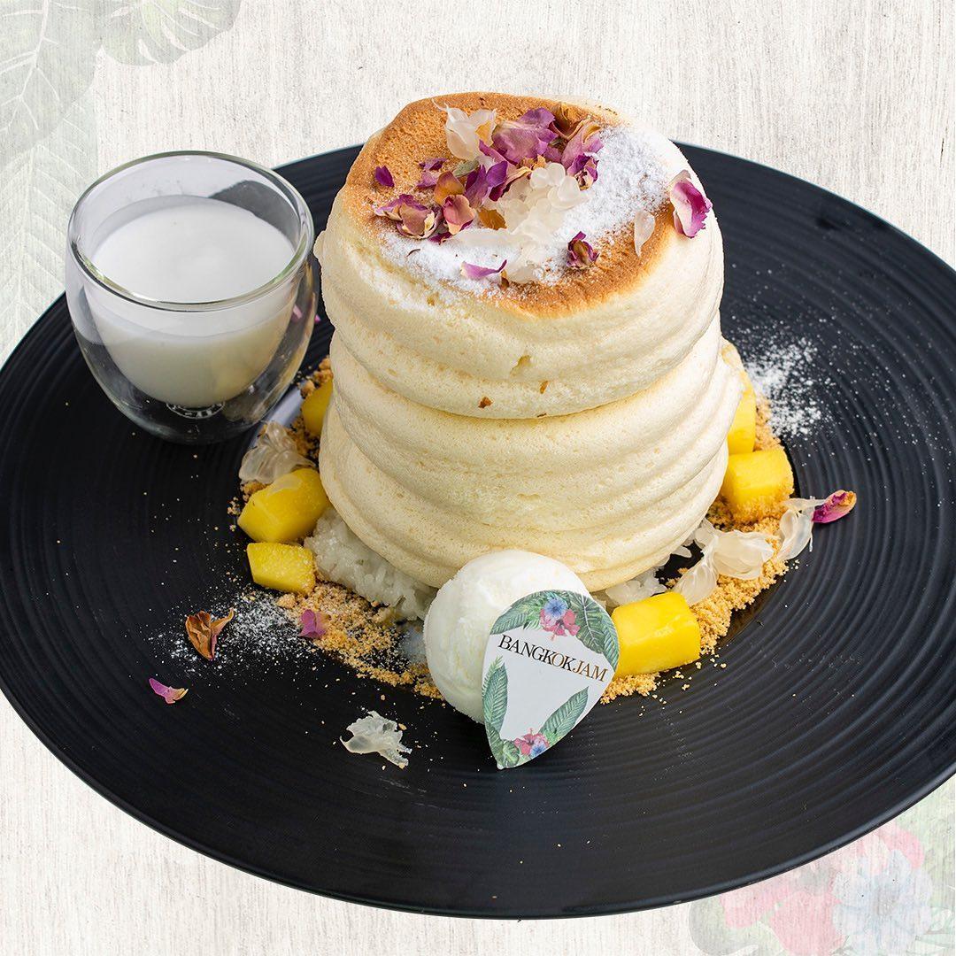 bangkok jam souffle pancakes