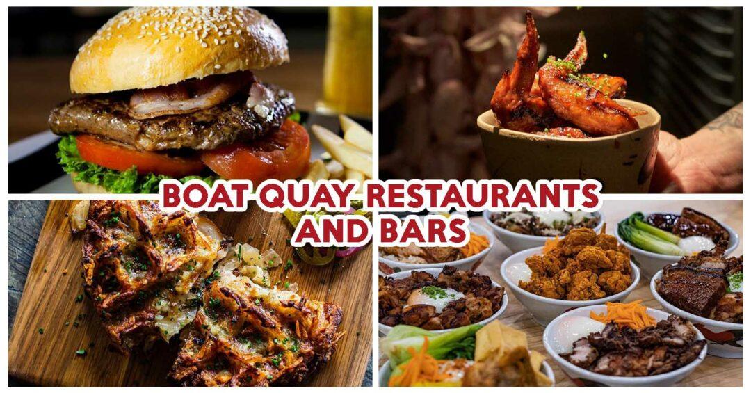 best boat quay restaurants and bars