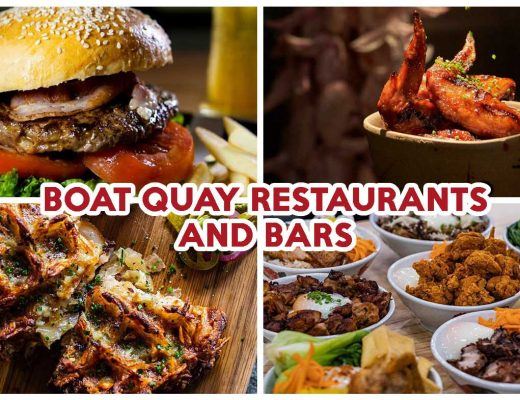 best boat quay restaurants and bars