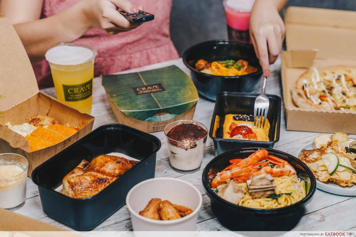 capitaland mall food delivery