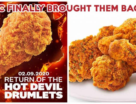 kfc hot devil drumlets
