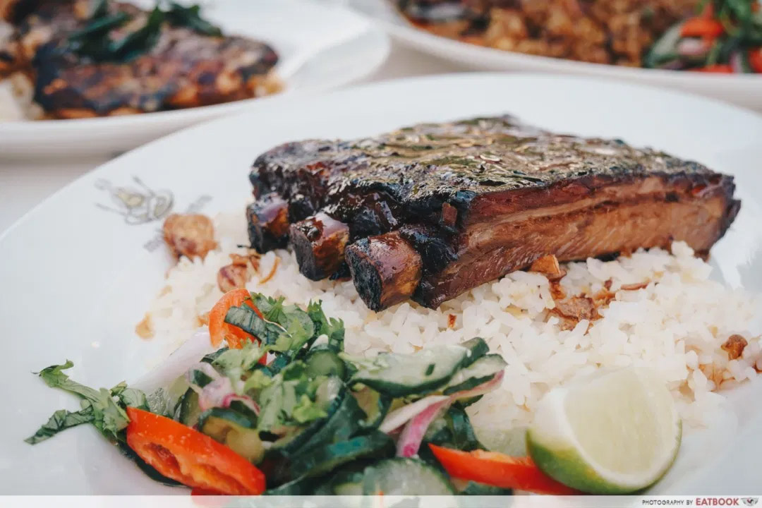 singapore food festival 2020 - Char Siew Smoked Ribs By Burnt Ends
