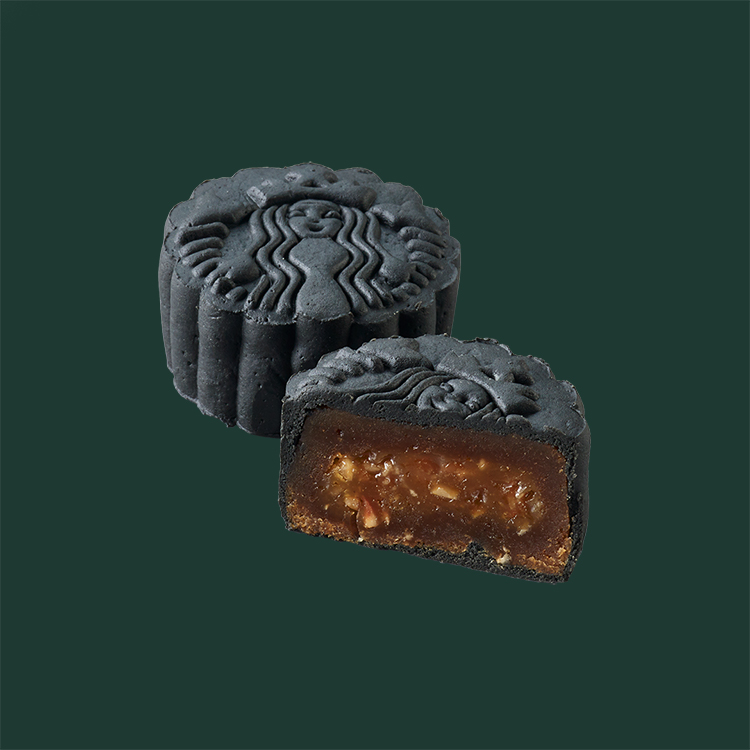 starbucks coffee mooncake