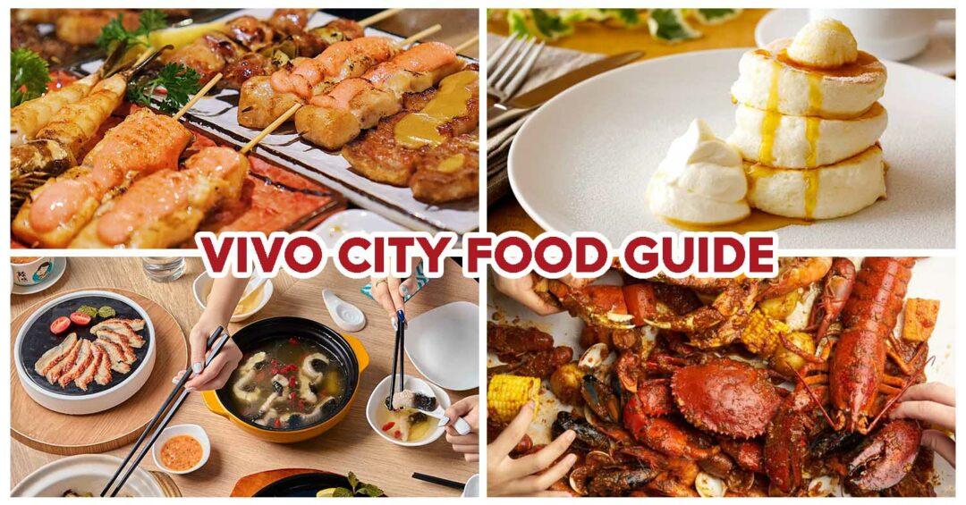 best vivo city food
