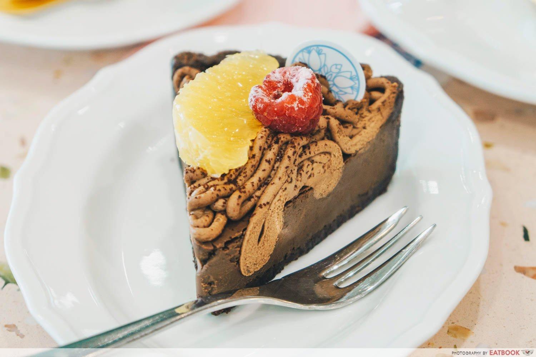 Flor Patisserie - royce chocolate tart