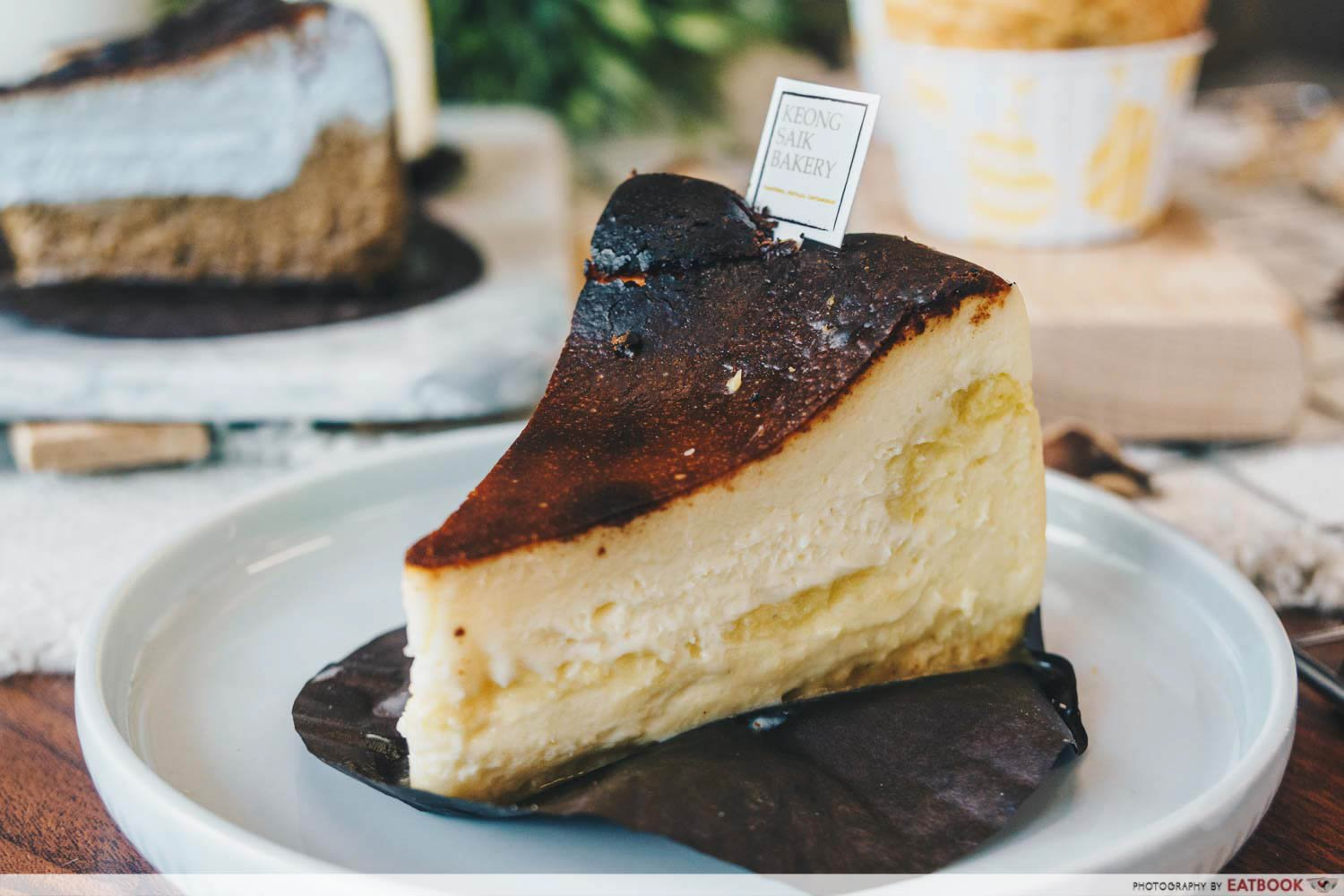 Keong Saik Bakery - mao shan wang burnt cheesecake