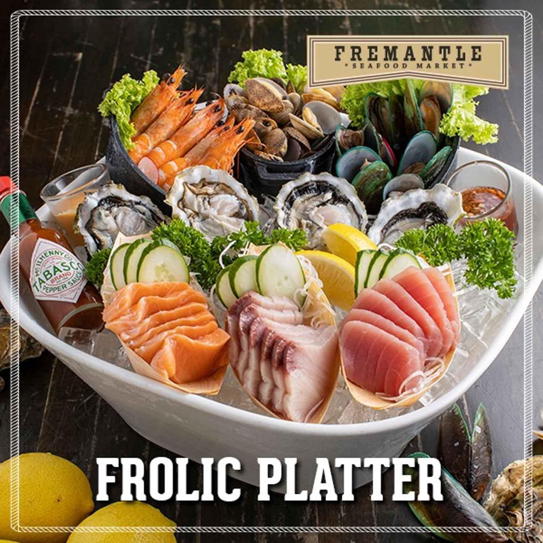 fremantle seafood market - frolic platter