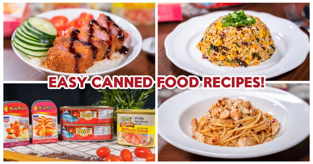 Canned food recipes - Feature image