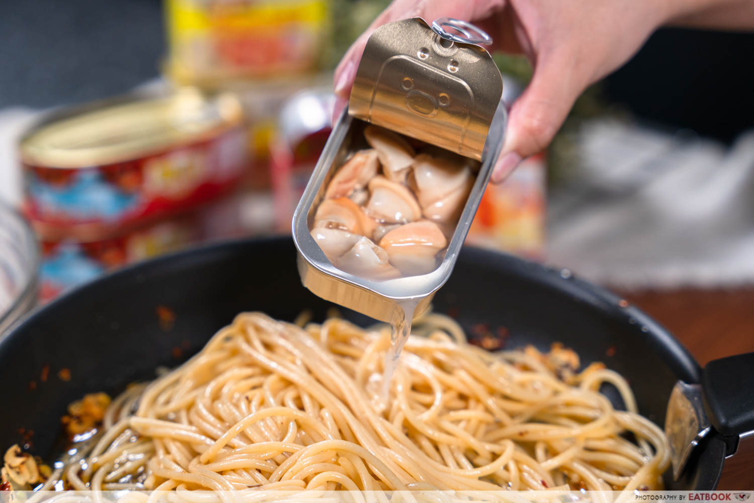 Canned food recipes - canned clams