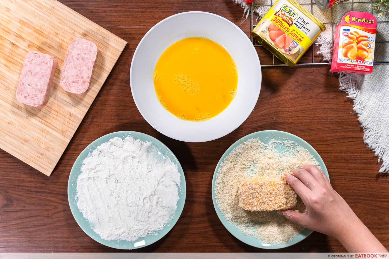 Canned food recipes - panko breading