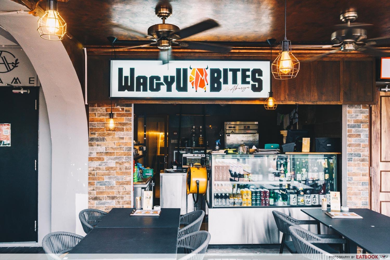 Wagyu Bites sign