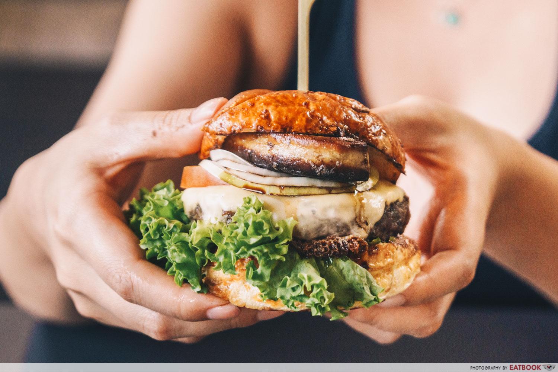 Wagyu Bites foie gras burger
