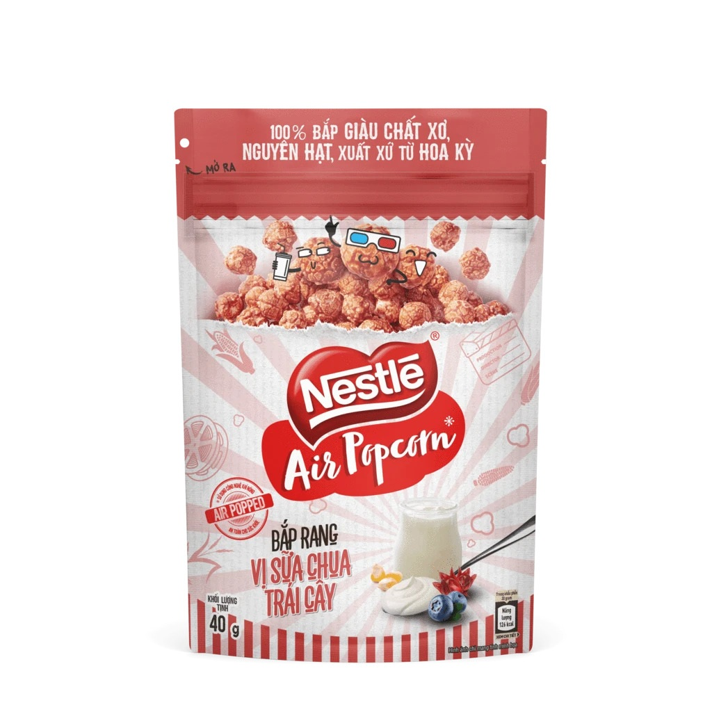 Fruity Yogurt Air Popcorn