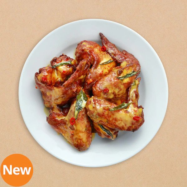 IKEA Salted Egg Chicken Wings
