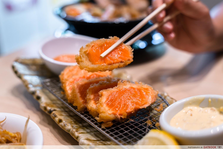 Keisuke Niku King - Salmon Rare Katsu