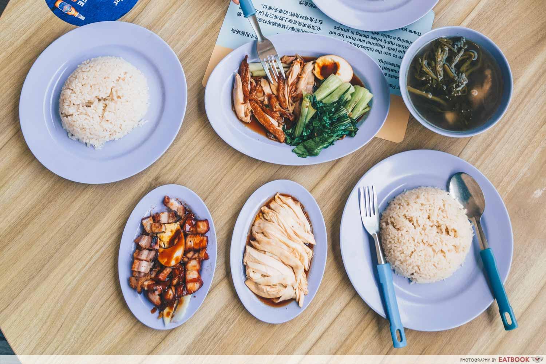Le Da Chicken Rice - flatly of food