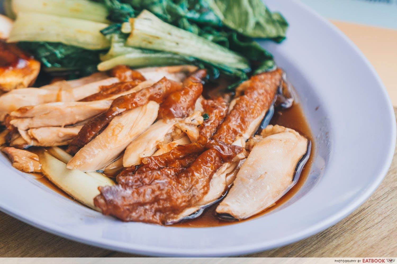 Le Da Chicken Rice - roasted chicken