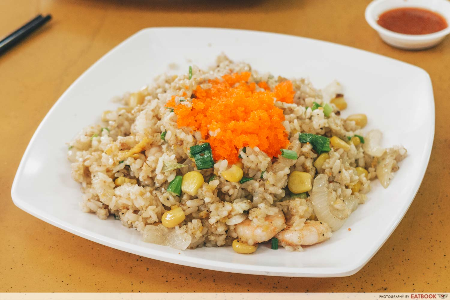 Limpeh - short grained fried rice