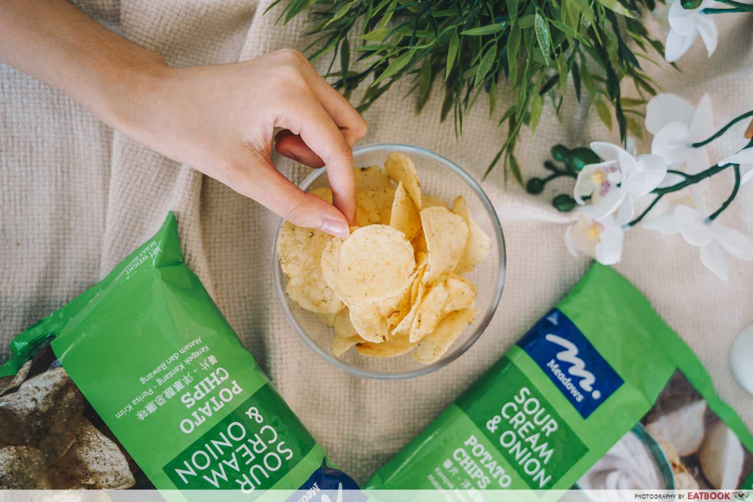 Meadows - sour cream and onion chips