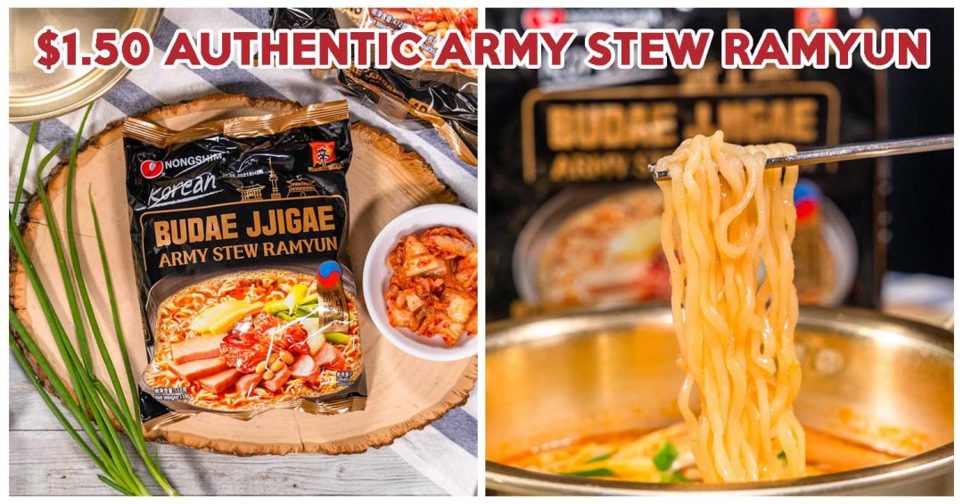 Nongshim Army Stew Ramyun Feature