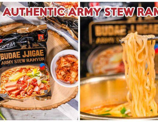 Nongshim Army Stew Ramyun Feature
