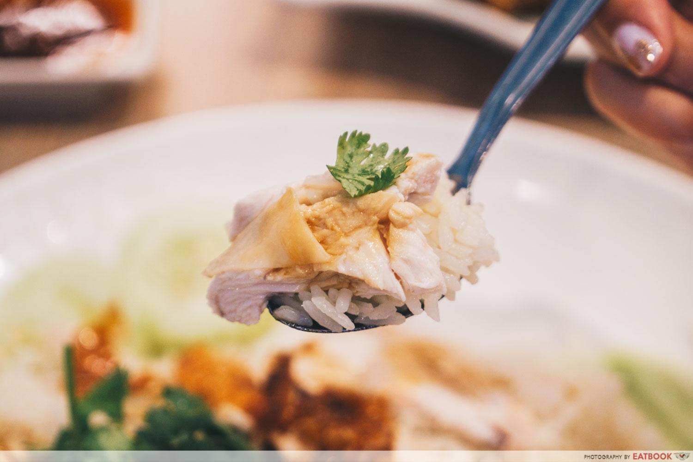 New Teck Kee Chicken Rice - chicken