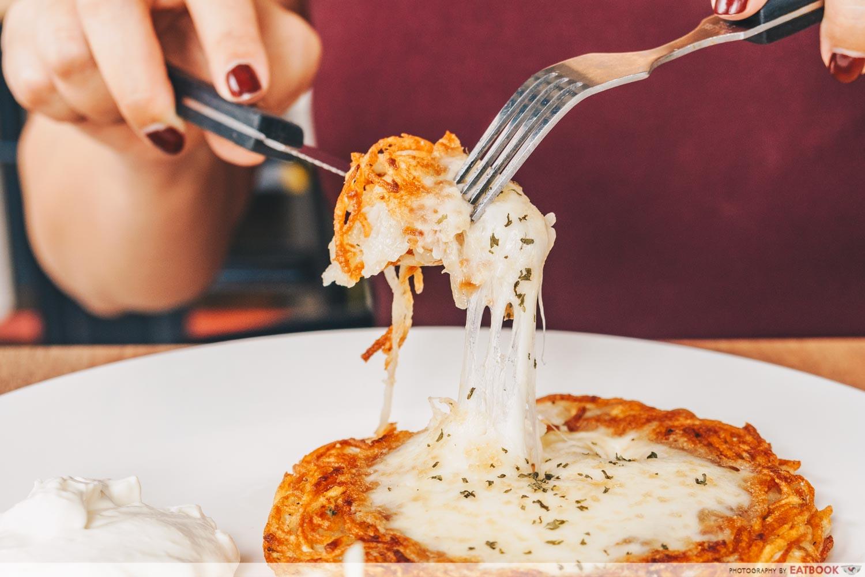 The 6ixs Rosti Cheese Rosti