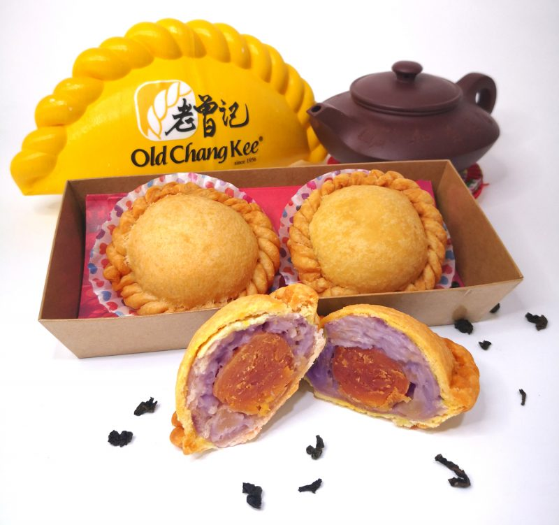 old chang kee salted egg yam puff