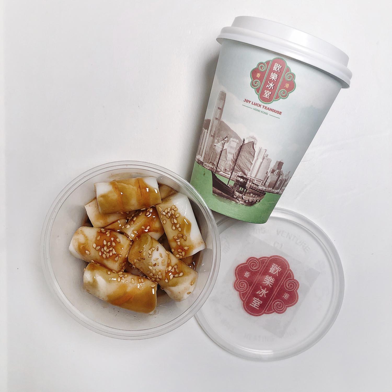 joy luck teahouse bugis - chee cheong fun