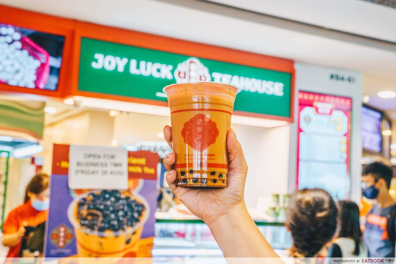 joy luck teahouse bugis - hong kong-style milk tea