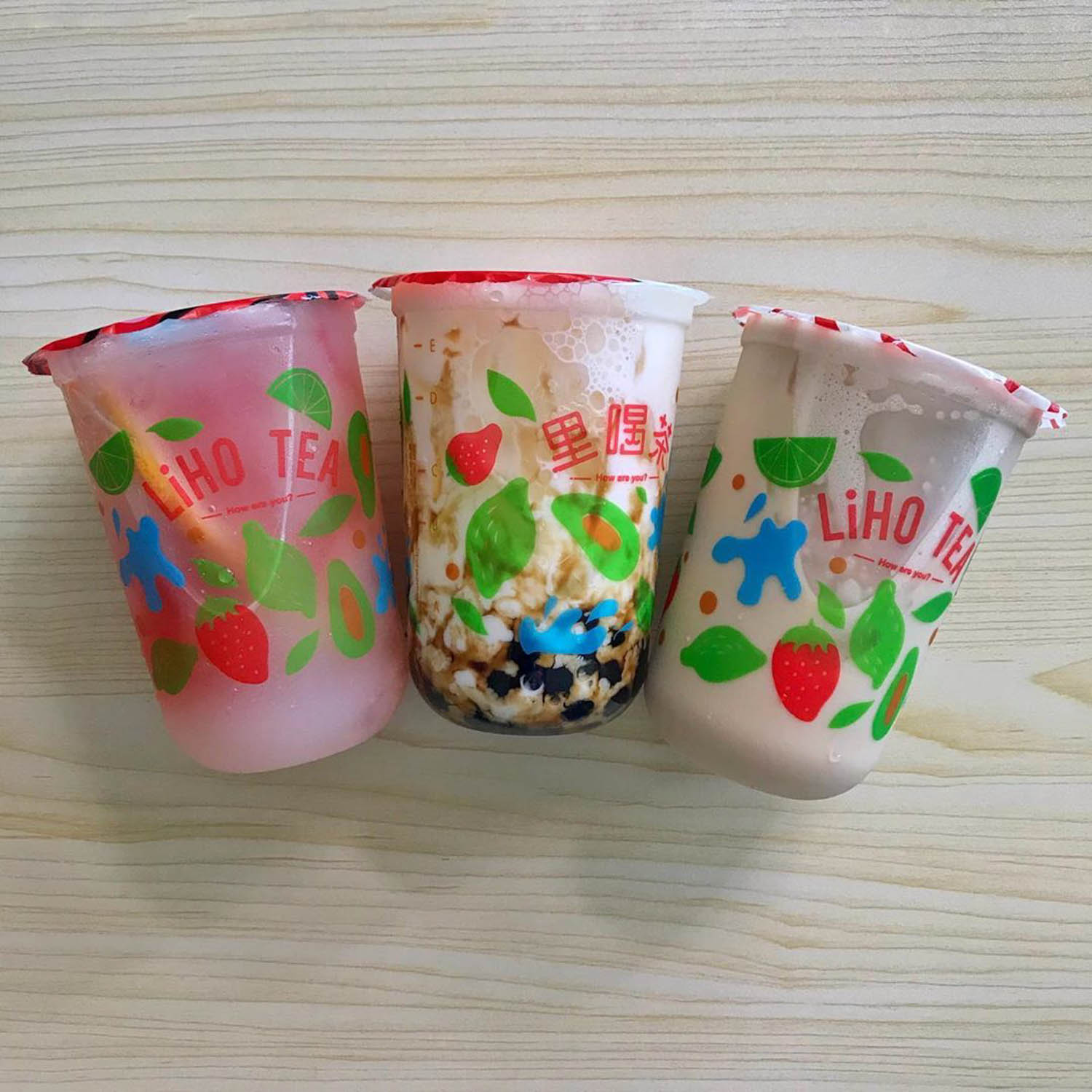 liho cheese ice cream - liho bbt
