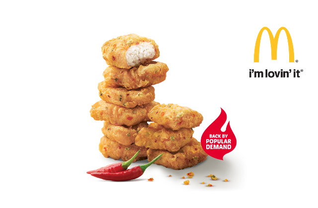 mcdonalds spicy nuggets
