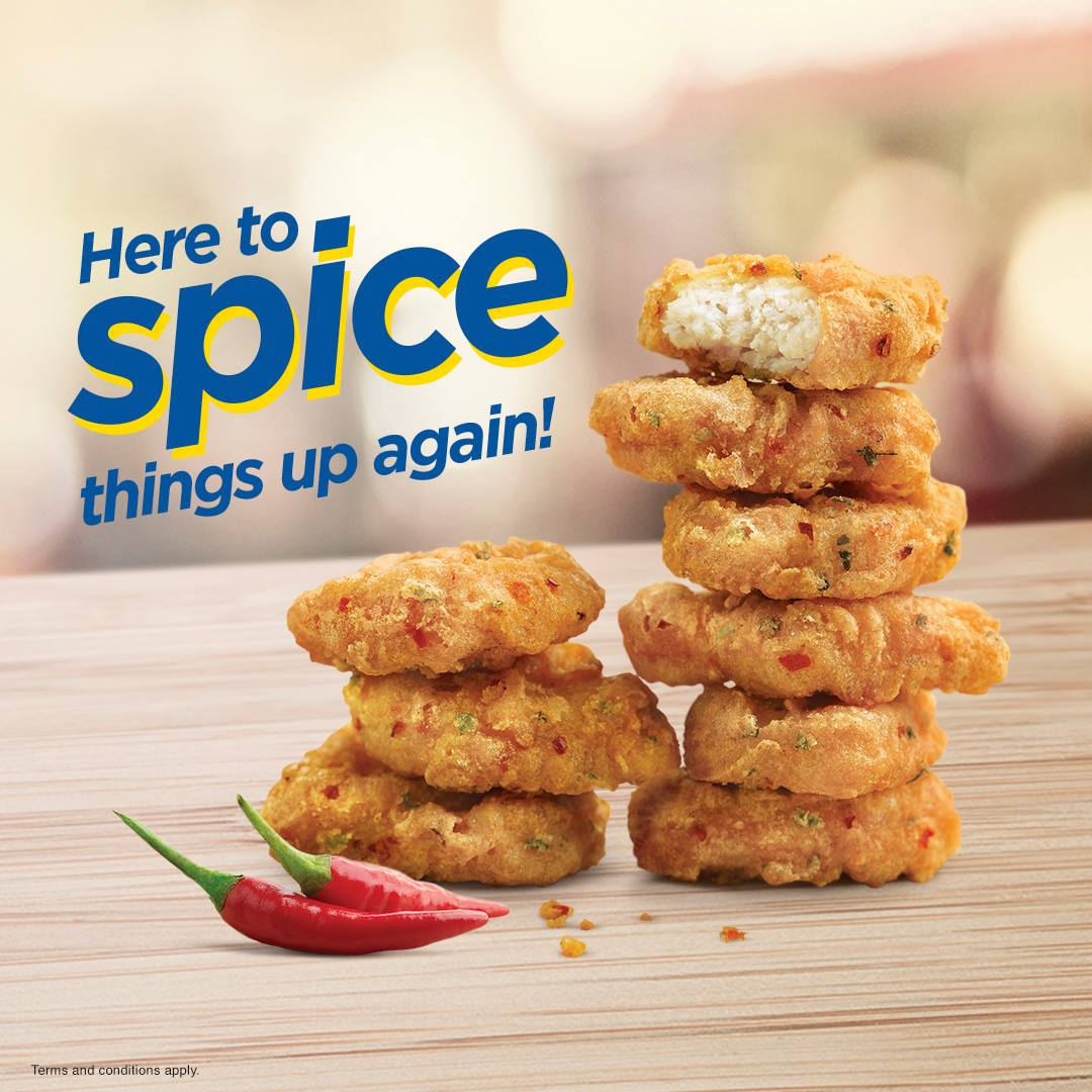 mcdonalds spicy nuggets 2020