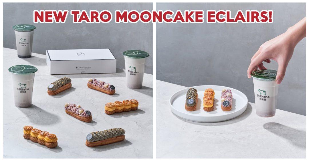 milksha mooncake eclair